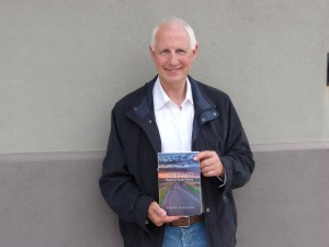 """British author and broadcaster Fraser Harrison is spending six weeks in Yankton in the hopes of writing a book about the community. Last year, he penned the book (pictured above) """"Infinite West: Travels in South Dakota,"""" which chronicled his exploration of the state."""