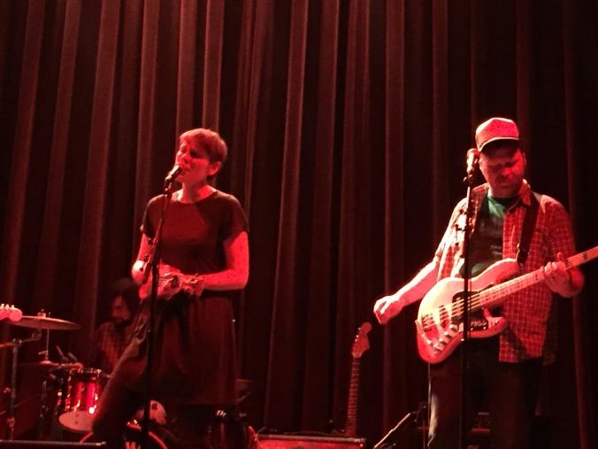 Allo Darlin' at The Icehouse in Minneapolis Nov. 1, 2014.