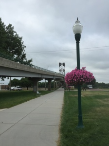 What else can you do at the Meridian Bridge? Run through a splash pad, play a xylophone, enjoy flowers and much, much more!